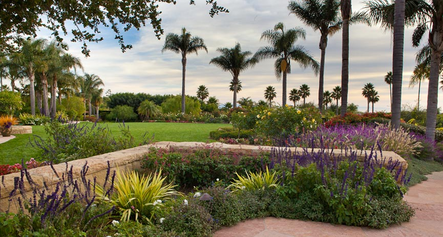 Large Santa Barbara Estate Landscaping