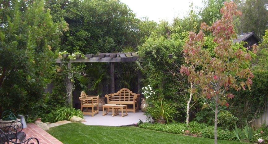 Montecito backyard landscaping ideas