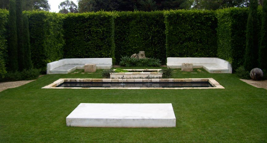Montecito Backyard Water Feature