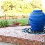 santa barbara backyard water fefatures