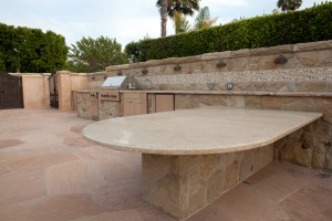 Santa Barbara outdoor kitchen