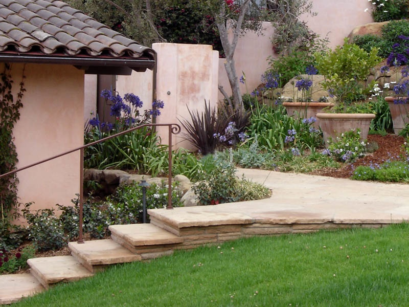 Santa barbara landscape design build contractor ventura for Residential landscape designer