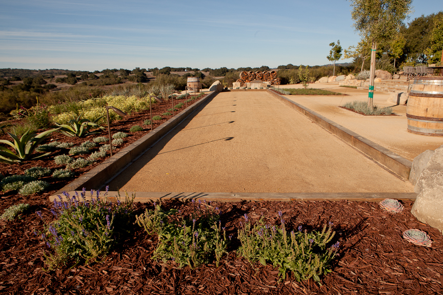Backyard Bocce Ball Court Design : Specialty hardscape bocce court2
