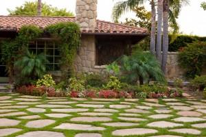 Santa Barbara Landscaping Front yard