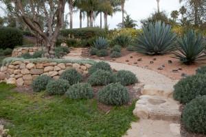 Santa Barbara Stone walls